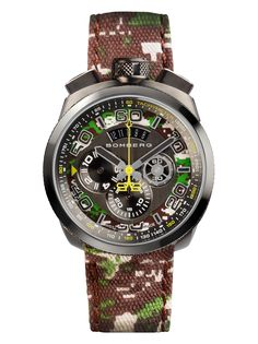 BOLT-68 QUARTZ CHRONOGRAPH BS45CHPGM.038.3 - BOMBERG