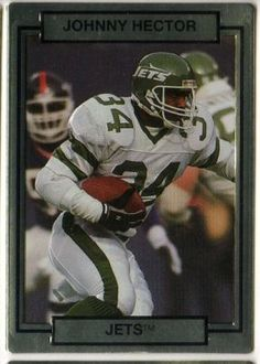 NEW YORK JETS - Johnny Hector 193 ACTION PACKED 1990 NFL American Football  Trading Card 4d47cb6c5