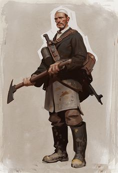 Character Design & Concept Art by Moby Francke | Inspiration Grid | Design Inspiration