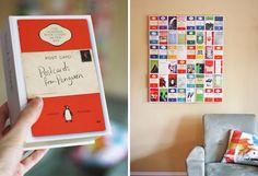 Cadeau  Creatief met papier (boekomslagen in videodozen)