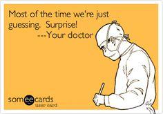 I think this may true of alot of Doctors at least thats the impression I get Medical Humor, Medical News, Nurse Humor, Someecards, Nurse Life, Rn Nurse, Nurse Stuff, Nurses Station, Funny Confessions