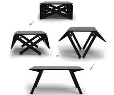 Transforming Coffee Table | DudeIWantThat.com