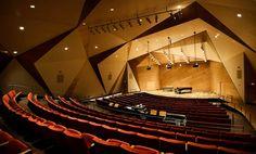 Conrad Prebys Music Hall. Photo by Erik Jepsen/UC San Diego Publications