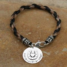 Tail Spin Bracelets - Bracelet from your Horse's Tail - Bracelets - Custom Horse Hair Jewelry