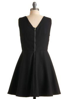 I always love a little black dress