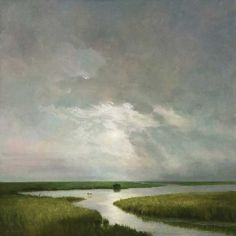 Injecting Sophisticated Drama: Painting Skies and Coasts With Delicate Brushstrokes - ArtistDaily