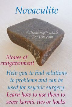 Learn how to use to sever karmic ties or hooks & find solutions to problems. Use for psychic surgery. Third eye and crown chakra stones that boost intuition. Crystal Healing Chart, Healing Crystals For You, Diy Crystals, Stones And Crystals, Gem Stones, Crystal Identification, American Women, American Indians, American Art