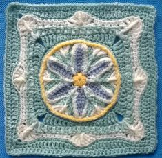 "Ravelry: In Like a Lamb, Out Like a Lion 9""-12"" Afghan Block pattern by Margaret MacInnis"
