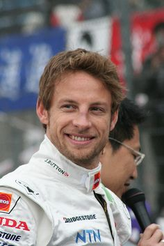 Another reason to like F1. Jenson Button.