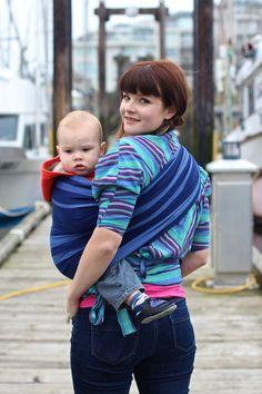 chimparoo azur ring sling #babywearing #wovenwraps http://www.sewfunky.ca