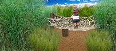natural playscapes | Homer Lake Natural Playscape