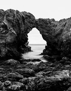 """For Eternity"" is a Limited Edition fine art photography print of a natural coastal arch in Corona del Mar , California 