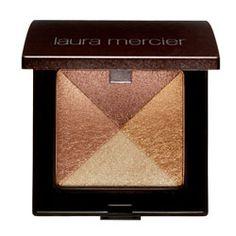 Laura Mercier Shimmer Bloc- just do ONE thing shimmery- cheeks or lips.  And just softly highlight above the cheek bones with a soft hand. Less is more.  You should just be able to see the shimmer in the light.