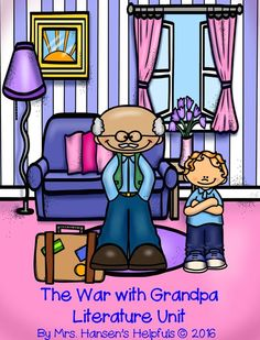 The War with Grandpa by Robert Kimmel Smith is an interesting story from the point of view of Peter, the grandchild. He gets upset with Grandpa moves in and takes over his room. Great literature unit, complete.  http://hansenshelpers.blogspot.com