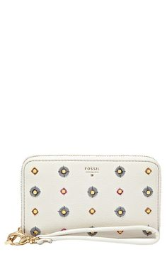 Fossil+'Sydney'+Zip+Phone+Wallet+available+at+#Nordstrom