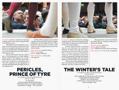 Graphic Thought Facility, Shakespeare's Globe Theatre campaign