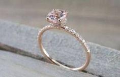 Super Wedding Rings Colored Stones Halo Ideas