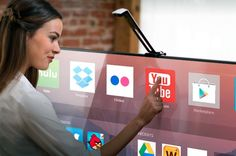 Turn your big-screen TV into an Android touchscreen with Touchjet Wave