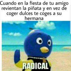 RADICAAAAL JAJAJA - meme Memes Blackpink, Stupid Memes, Best Memes, Funny Memes, Funny Spanish Memes, Spanish Humor, Funny Short Videos, Aesthetic Videos, A Funny