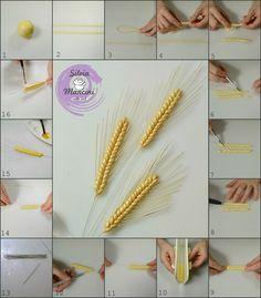 tutorial spiga di grano in pasta di zucchero - Cerca con Google