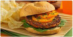 Fermes Burnbrae : Le coin recettes : Burger v�g�tarien aux carottes et champignons