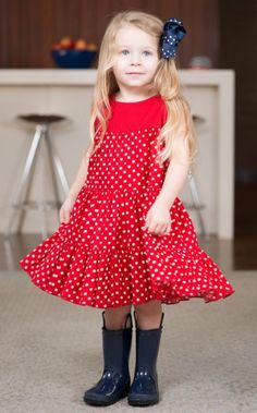 Shirred Tiered Dress - The Dragon and the Rabbit
