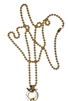 Silly Girl Vintage - Sasha's State of Mind, Gold Beaded Chain, £18.00 (http://www.sillygirlvintage.co.uk/sashas-state-of-mind-gold-beaded-chain/)
