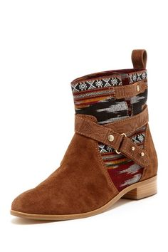 Cynthia Vincent West Ikat Engineer Boot by Boot Blowout on @HauteLook