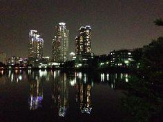 A night at the Kunkuk University Lake