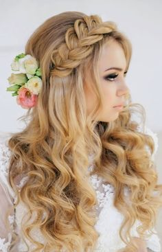 Wedding Half up Half down Hairstyles for 2016 | Haircuts, Hairstyles 2016 / 2017 and Hair colors for short long & medium hair