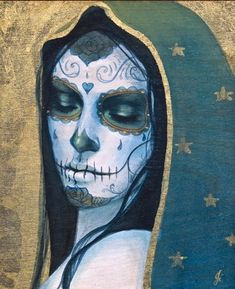 Celebrate Day of the Dead With Some Hauntingly Beautiful Artwork