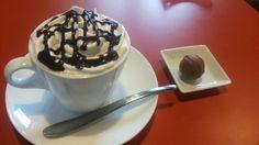 SIX COFFEE & CHOCOLATE/カフェモカ(ホット)、Don't worry(2015/6/28)