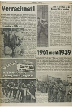 Berliner Zeitung 13.8.1961