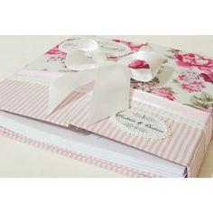 Livro de Presença e Assinatura para Casamento Personalizado - Blossom  - Supreme Glamour - Noiva e Festa de Casamento