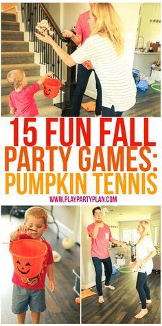 Forget football and try these fall party games instead