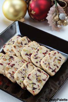 Cranberry Pistachio Shortbread   Cooks Joy