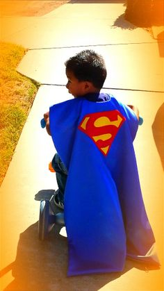 Custom Order Superhero Cape inspired by by thecountrydivas on Etsy, $18.00