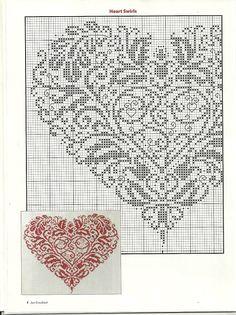 monochromatic heart