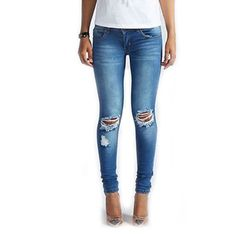 SexeMara Women High Waist Jeans Casual Ripped Skinny Jeans Boyfriend Stretch Jeans female Pencil Pants *** AliExpress Affiliate's Pin. Locate the offer simply by clicking the VISIT button