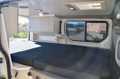 Nissan Primastar Equipación y preparación de furgonetas Customized campera kits