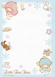 blue Little Twin Stars memo pad as courtesy of Sanrio Little Twin Stars, Little Star, Sanrio Wallpaper, Star Wallpaper, Hello Kitty My Melody, Sanrio Hello Kitty, Kawaii Stationery, Letter Set, Sanrio Characters