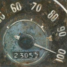 speedometer  canvas
