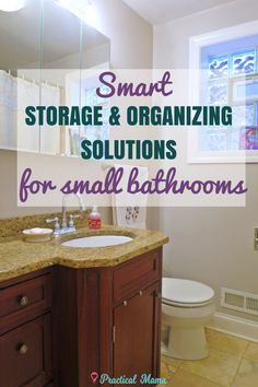 Small bathrooms requ