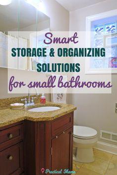 Small bathrooms requ