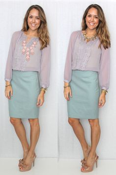 Js Everyday Fashion: Todays Everyday Fashion: Lilac Lace