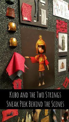 Kubo and the Two Strings Sneak Peek Behind the Scenes at Laika Studios - Thrifty Jinxy
