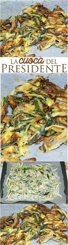"""Per questa ricetta di zucchine al forno croccantissime, vi dico solo che le ha mangiate anche mio figlio che di alimenti """"verdi"""" proprio non ne vuole sentire nemmeno parlare. E ho detto tutto!"""