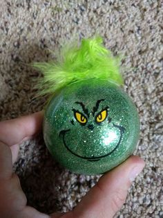 Grinch Christmas Ornament by ColoCustomCreations on Etsy