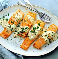 easy weeknight meals, salmon recipes, baked salmon recipes, easy dinner, fast dinner, quick dinner, fish recipes, healthy dinner ideas, 5 ingredient recipes, 5 ingredient dinner ideas, 5 ingredient meaIs, mustard recipes, mustard glaze Mustard Sauce For Salmon, Creamy Mustard Sauce, Baked Salmon Recipes, Fish Recipes, Seafood Recipes, Seafood Meals, Sauce Recipes, Healthy Dinner Options, Healthy Breakfast Recipes