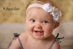 10 Month Little Girl Photo Session